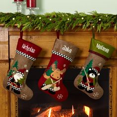 Rustic Hunting Stockings | Country Christmas Stocking