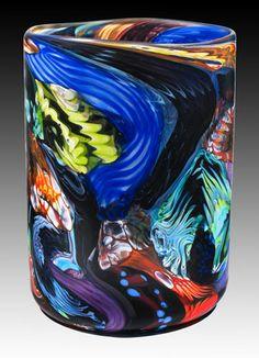 Hungry for colours - Apád nem volt üveges! Blown Glass Art, Art Of Glass, Glass Paperweights, Glass Vase, Colored Glass, Fused Glass, Decoration, Art Pieces, Sculpture Art