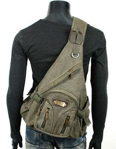 ModernManBags.com - Men's Military-style Single-shoulder Crossbody Canvas Backpack, $44.99 (http://www.modernmanbags.com/mens-military-style-single-shoulder-crossbody-canvas-backpack/)