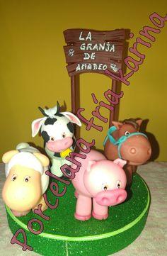 Animalitos de granja para amadeo