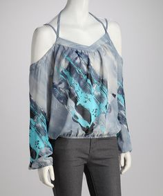 Take a look at this Ocean Tie-Back Top - Women by Madison Paige on #zulily today! $12.99, regular 70.00
