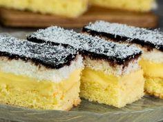 "The cake that e in my cookbook - the cake ""Regina Maria"" Romanian Desserts, Romanian Food, No Cook Desserts, Mini Desserts, Food Cakes, Cake Recipes, Dessert Recipes, Pie Dessert, Sweet Cakes"