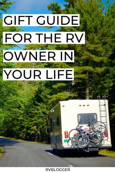 Not sure what to get the RV owner in your life? Check out this gift guide for the RV owner in your life. | gift ideas | RV tips | Trailer tips | camping tips and tricks | camping gear | RV gear