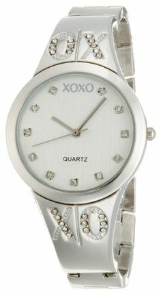 XOXO Women's XO5216 Silver Dial Silver-tone Half Cuff and Half Bracelet Watch XOXO,http://www.amazon.com/dp/B003DIHB3U/ref=cm_sw_r_pi_dp_BEEYsb0Y6V59EJAD