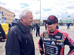 Dale Jarrett and Jeff Gordon