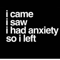 A little anxiety humor😎 Anxiety Humor, Anxiety Quotes, Anxiety Aesthetic, Life Quotes, Funny Quotes, Sarcastic Quotes, Qoutes About Love, Depression Quotes, Infj