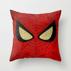 save of Spider-Man: With great power . Throw Pillow by Itomi Bhaa on Wanelo Man Pillow, Felt Pillow, Sewing Pillows, Diy Pillows, Throw Pillows, Sewing For Kids, Diy For Kids, Avengers Room, Superhero Room