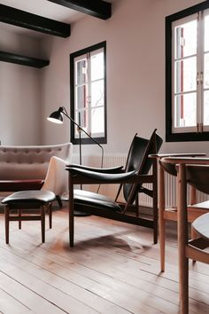 Dwell - Finn Juhl Design Hotel Opens in Nagano, Japan