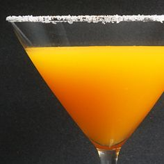 the habanero & passion fruit martini