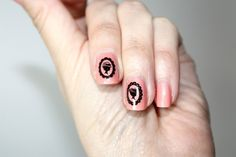 """Just discovering Fushigi Shop. Love these """"Ladies in Shadows"""", nail stickers"""