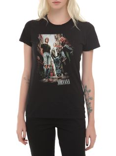 Nirvana Photo Girls T-Shirt | Hot Topic
