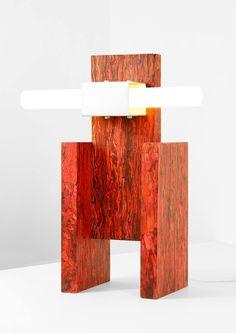 Structural Skin Lamp is a minimal table lamp created by Madrid-based designer Jorge Penadés Lamp Design, Lighting Design, Milan Design Week 2017, Study Interior Design, Collections Of Objects, Milk Shop, Design Blog, 2020 Design, Design Furniture