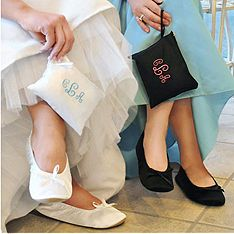 Party Slippers---bridesmaid gifts?