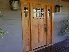 This my door only in lighter wood...love my dark wood door better :-)!