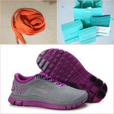 Womens Nike Free 4.0 V2 Magenta/Reflective Silver/Volt Running Shoes $ 49.99