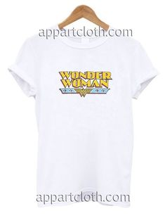 Wonder Woman Logo Funny Shirts