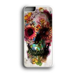 Floral Skull Custom for iPhone Case and Samsung Case