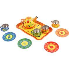 Fém teáskészlet Children, Kids, Sons, Child, Babies, Infant