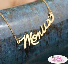 Signature necklace is a handwritten expression. We will make a special necklace from you signature. So cool!