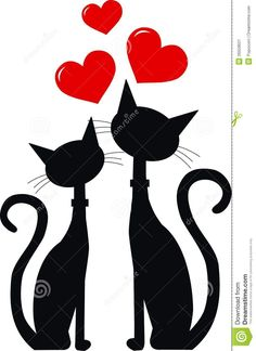 Two Black Cats In Love - Download From Over 27 Million High Quality Stock Photos, Images, Vectors. Sign up for FREE today. Image: 26559621