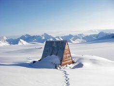 Talkeetna Mountains of Alaska