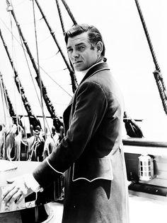 """Clark Gable en""""La tragedia de la Bounty"""" (Mutiny on the Bounty), 1935"""