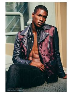 "Ronald Epps in ""Well, I Came to Spend Money, but You Just Went and Ruined My Mood"" by David Urbanke for Flaunt - November 2013"