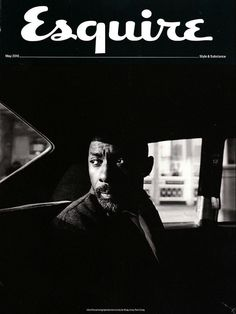 Idris Elba subscriber cover for Esquire