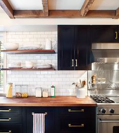 classic • casual • home: Open Shelving Ideas For Your Kitchen