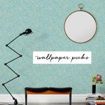 When we first moved into our house, I knew I wanted to have one dramatic space that utilized wallpaper. We ended up using a watercolor-inspired floral pattern in our powdered room, but I love the idea of using it elsewhere, like an entryway, closet or behind a bookshelf. Here, I rounded up eight inspirational uses of wallpaper and where you can find similar styles for your own space.