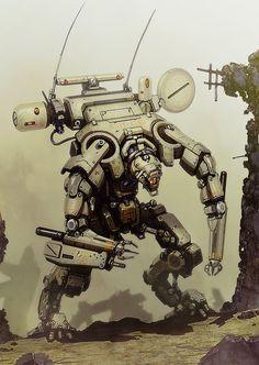 concept robots: Concept robots by Alexander Iglesias
