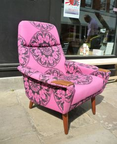 danish chair reupholstered - Google Search