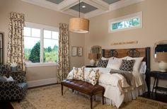 2013 Southern Living Custom Builder Showcase Home - rustic - bedroom - other metro - Dillard-Jones Builders, LLC-Sherwin Williams Nantucket Dune