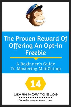 Offering an opt-in freebie offers a proven reward to both you and your readers.  You win by growing your email list. Your subscribers benefit from receiving some of your knowledge for free. An opt-in freebie doesn't need to be complicated or time consuming. You probably have content on your blog right now you can use for your lead magnet. Put your readers first as you create your signup incentive. Your readers will thank you by sharing their email addresses with you. ★ Learn HOW To Blog ★