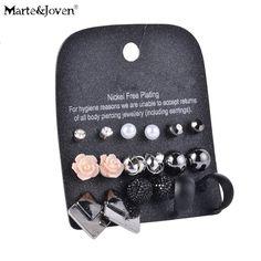 Stud Earrings  [Marte