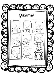 Math Addition Worksheets, Bullet Journal, Education, Preschool, First Grade Math, Addition And Subtraction, 1st Grades, Activities For Kids, Index Cards