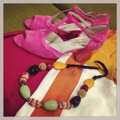 Cheville shoes. In rosebi store