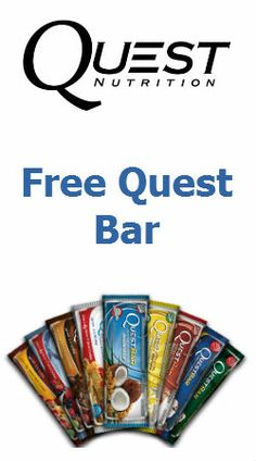 Free #Sample of #Quest Protein #Bar! #food #try