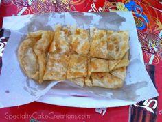 Traditional Thai Pancake - Roti