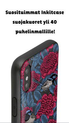 Suositut värikkäät suojakuoret yli 40 puhelinmallille! #suojakuori #puhelin #kaunis #värikäs #taustakuva #art #diy #phonecase #design #color #animal Home Crafts, Diy And Crafts, Ipad Pro, Ipad Mini, Iphone 6, Aqua, Good Things, Phone Cases, Cool Stuff