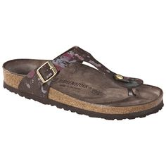 c909debee917 These comfortable shoes by Birkenstock features pronounced arch support
