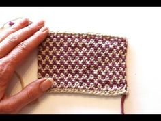 Linen Stitch - v e r y p i n k . c o m - knitting patterns and video tutorials
