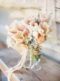 "@ Stephanie Martling ""Love"" @ LForrest: I like as well. This looks like a center piece but let's use this color palate and level of wild/rustic for our bouquets (see the other examples)"