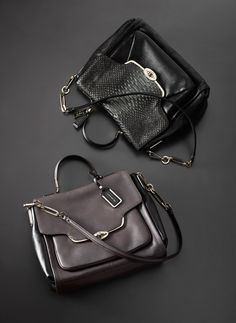 The Coach Madison Sadie Flap Satchel