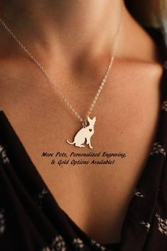 CIJ SALE  Sphynx Cat Necklace  Hairless Cat Pendant by IvyByDesign