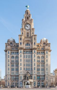 The Royal Liver Building, Liverpool, England