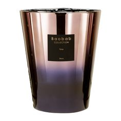 Infuse your home with the spirit of the disco with this Disco Tina scented candle from Baobab Collection. Encased in a metallic toned, bronze and purple glass vessel, this luxury candle features the s