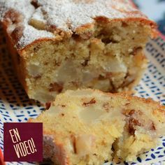 Entrada individual Budín Húmedo de Peras y Jengibre Entrada individual Budín Húmedo de Peras y Jengibre Pan Dulce, Tortas Light, Cooking Time, Cooking Recipes, Yummy Treats, Yummy Food, Appetizers For Kids, Sweet Cakes, Sweet Bread