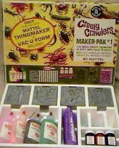 Creepy Crawlers Bug Maker (& Burn Maker!)