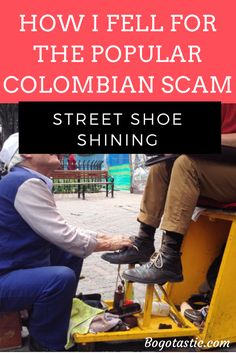 Many locals have told me they've never heard of this super popular colombian scam. I was so furious I told everyone about it and apparently it's much more common than you'd think!